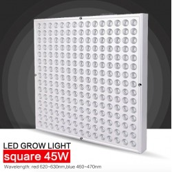 45W LED Panel Plant Grow Hydroponic Light 225 LEDS