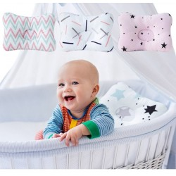 Head positioner for baby & kids - 3D cotton pillow
