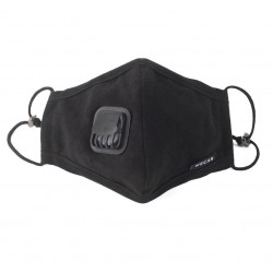 Protective anti-bacterial face mask with filters