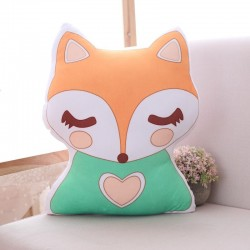 cute unicorn fox stuffed baby toys - soft kawaii animal shaped - pillow cartoon doll - cushion gift