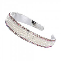 Luxury hair band with a shiny crystals