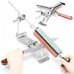 2019 New Iron Steel Kitchen Sharpener Professional Kitchen Knife Sharpener Sharpening Tools Fix-angl