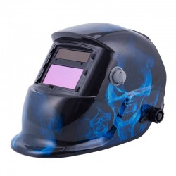 Obscure-Variable Blue Crane Welding Mask with Auto-Darkening LCD Filter for ARC TIG MIG Welder