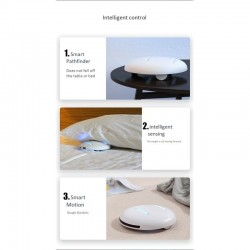 UV steriliser-robot - pocket size CleanseBot - bacteria killing - for home and travel - anti house mite