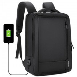 """Anti-theft waterproof travel backpack - 15.6"""" inch Laptop bag with USB charging"""