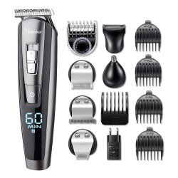 5 in 1 Electric hair trimmer set - waterproof - beard trimmer