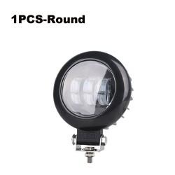 6D lens - 5 inch - 30W 12V - LED-lichtbalk - reflector voor 4x4 ATV SUV-vrachtwagens - spot / mistlicht - halo - rijverlichting