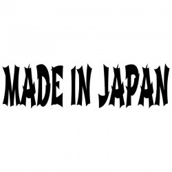 MADE IN JAPAN Car Stickers