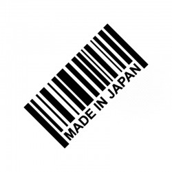 MADE IN JAPAN Reflective 3D Car Stickers