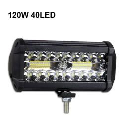 60W - 420W - LED-Lichtleiste - Kombi-Scheinwerfer für LKW - Offroad - Traktoren - 4x4 SUV - ATV - Boote