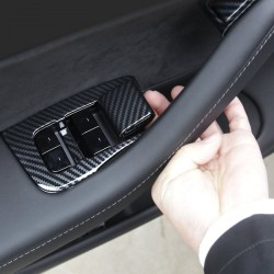 Window lifter switch ABS frame - cover - sticker - Tesla model 3 2018-2019