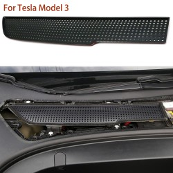 Air intake filter vent - protective cover frame for Tesla Model 3 2017-2019