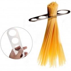 Pasta - spaghetti measure tool - stainless steel - correct portion size