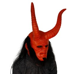 Hellboy latex mask