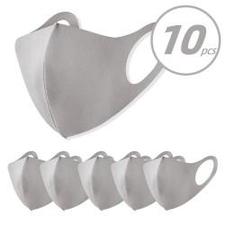 10 stuks - gezichts- / mondmasker - anti-vervuiling - stofdicht - wasbaar