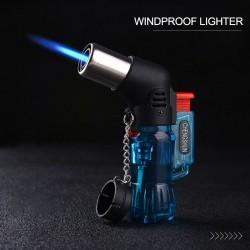 Mini butane jet lighter - refillable - windproof