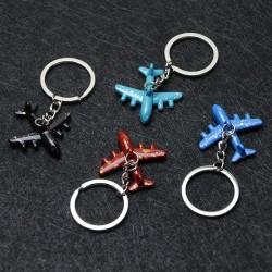 Mini airplanes - keyrings - multiple colours