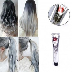 Permanente haarverf kleur crème - smokey zilvergrijs - 100ml