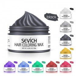 Strong hair color wax - temporary hair dye - 9 different colours