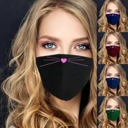 Beschermend gezicht / mondmasker - wasbaar - cartoon print