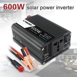 1000W - USB Power Inverter - DC 12V to AC 220V - Car inverter