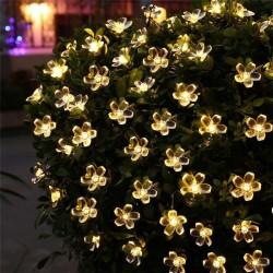 5m - 7m - 12m - 22m - Solar - LED - lichtslingers - kerstdecoratie - bloemen