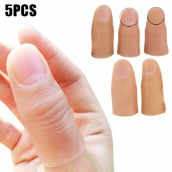 5 pieces - fake silicone fingers - Halloween toy
