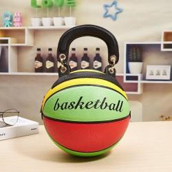 Basketball shaped - shoulder bag - women