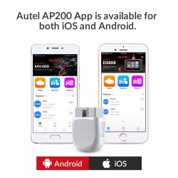 Autel AP200 - Bluetooth OBD2-scanner - codelezer - auto diagnostisch hulpmiddel