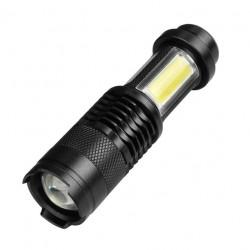 XP-G Q5 - Mini led Flashlight -2000 Lumens - Adjustable - Waterproof
