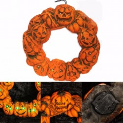 Halloween - Jack-o'-Lantern - LED - Pumpkin - Door Hanger