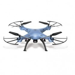 Syma X5HW - WIFI - FPV - HD Camera - 2.4G - 4CH - 6 Axis - RC Drone Quadcopter - Green Mode 2 (Left Hand Throttle)