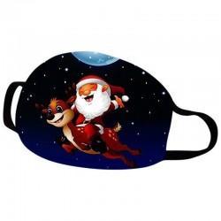 Kerstmaskers - Kerstman - Gelukkig nieuwjaar - Navidad