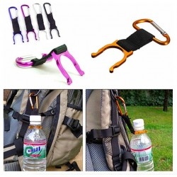 Aluminium Carabiner With Bottle Holder