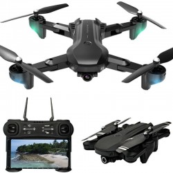 H12 - WIFI - FPV - 4K Dual HD Camera - 25mins Flight Time - Foldable - Altitude Hold