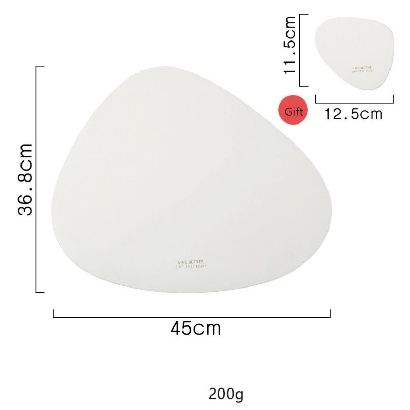 Table mat / coaster - non-slip - heat-insulation - for cutlery / plates / glasses