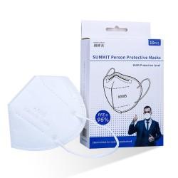 KN95 - antibacteriële gezichts- / mondmaskers - 5-laags - herbruikbaar - 10 - 20 - 50 - 100 stuks