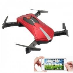 Eachine E52 - WiFi - FPV - Selfie Drone - Foldable - 0.3MP - Red - RTF