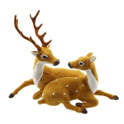 Kerstdecoratie - bruin rendier - hert