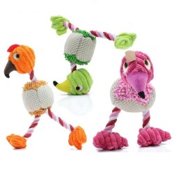 28 * 6 cm - plush bird - toy for dogs / cats with sound