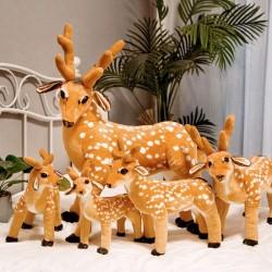 50 - 60 - 75 cm pluche rendier - hert - speelgoed