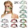 2 stuks - antibacteriële gezichtsmaskers - transparante mondkap - liplezing
