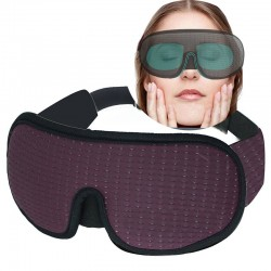 3D sleeping mask - soft - padded - blackout blindfold