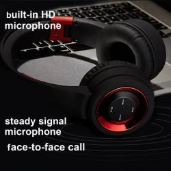 Draadloze Bluetooth-hoofdtelefoon met microfoon - hoofdtelefoon