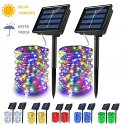 Christmas Decorations - Solar String - Fairy Lights - Waterproof