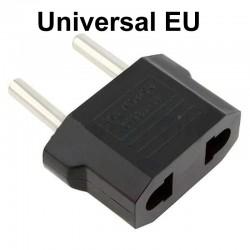 US-Flachstecker zu EU-Rundstecker - Adapter - Reisestecker
