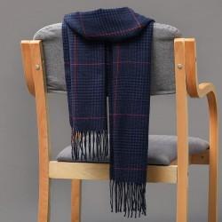Cashmere shawl with tassels - unisex