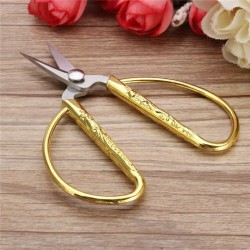Gold Sewing Scissors - Embroidery - Needlework