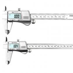 Measuring Tool - Stainless Steel - Digital Caliper - Black - Silver