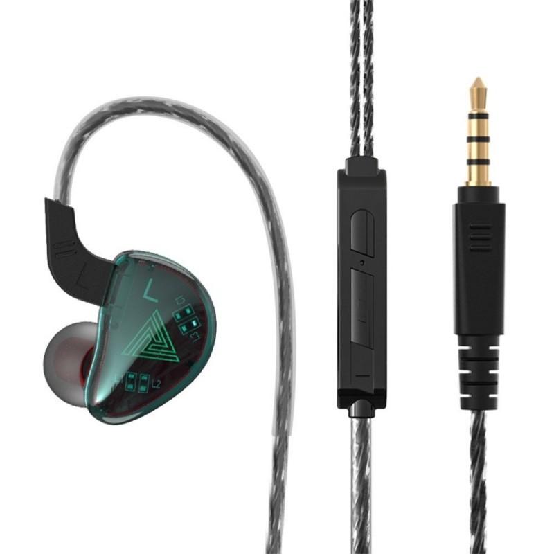 QKZ AK9 - 3,5 mm - bedrade oortelefoons - ruisonderdrukking
